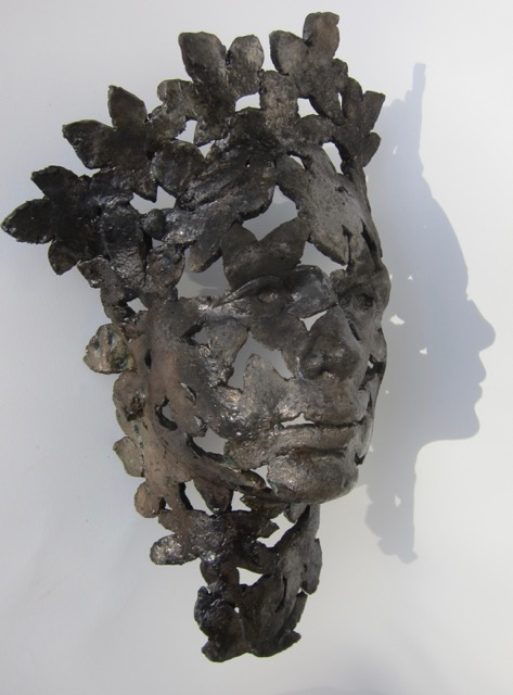 Untitled, raku fired